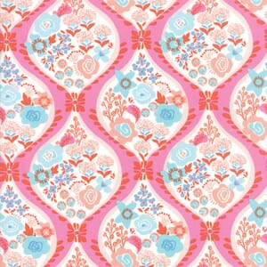 Small Image of Moda Fabric Voyage Meuse Mandarin