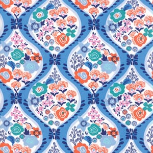 Small Image of Moda Fabric Voyage Meuse Delft