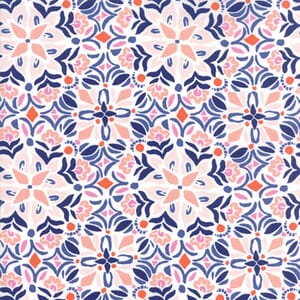 Small Image of Moda Fabric Voyage Kerala Mandarin