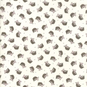 Small Image of Moda Fabric Cottontail Cottage Nesting White