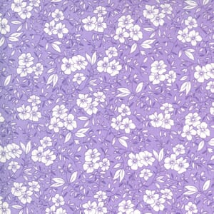 Moda Fabric 30s Playtime Friendly Blooms Lilac 33592 22