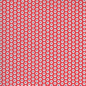 Moda Fabric 30s Playtime Be Mine Hearts Scarlet 33598 18