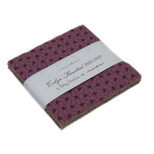 Small Image of Moda Fabric Evelyns Homestead Charm Pack