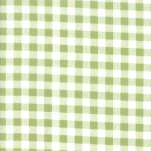 Moda Farmers Daughter Gingham Grass Quilting Fabric