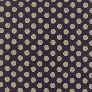 Moda Farmers Daughter Shabby Dots Charcoal Quilting Fabric