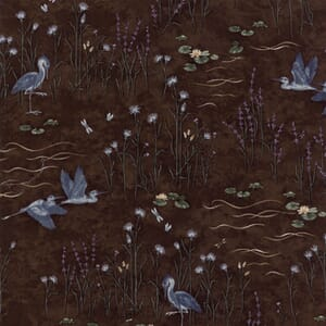 Moda Fabric Summer On The Pond Pond Scenic Mud