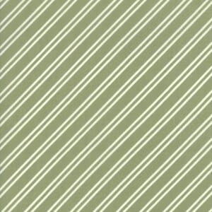Moda Fabric At Home Diagonal Stripe Leaf