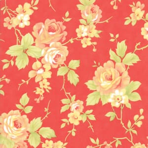 Moda Fabric Catalina Floral Red