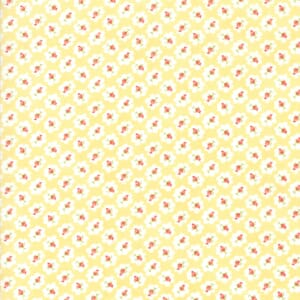 Moda Fabric Catalina Small Flowers Sunshine