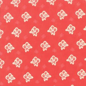 Moda Fabric Catalina Cherries Red
