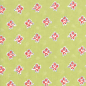 Moda Fabric Catalina Cherries Grass
