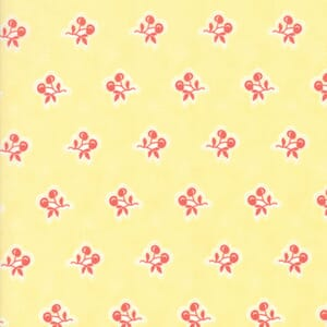 Moda Fabric Catalina Cherries Sunshine