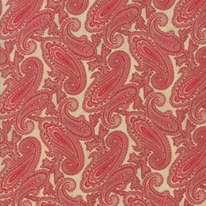 Large Image of Moda Fabric Cinnaberry Almond Cranberry Paisley
