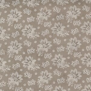 Moda Fabric Cranberries and Cream Jacobean Paisley Cocoa 44264 15