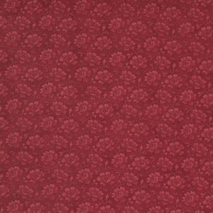 Moda Fabric Cranberries and Cream Winter Rose Cinnamon 44265 16
