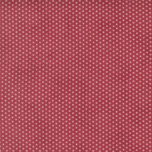 Moda Fabric Cranberries and Cream Star Sprinkles Cranberry 44268 11