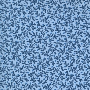 Moda Fabric Crystal Lane Berries and Bits Cashmere Blue 2983 11