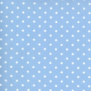 Moda Fabric Crystal Lane Snow Dots Cashmere Blue 2987 11