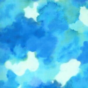 Moda Fabric Fanciful Forest Clouds Turquoise 33575 15