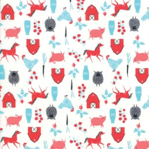 Moda Fabric Farm Charm Farm Multi