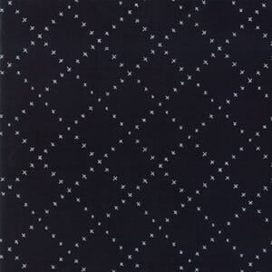 Moda Fabric Farm Charm Check Black