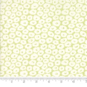 Small Image of Moda Fabric Fleurs Daisy Field Sprout