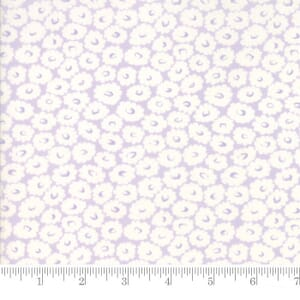 Small Image of Moda Fabric Fleurs Daisy Field Wisteria