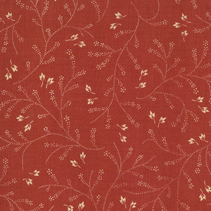 Moda Fabric French General Favourites Clochette Red