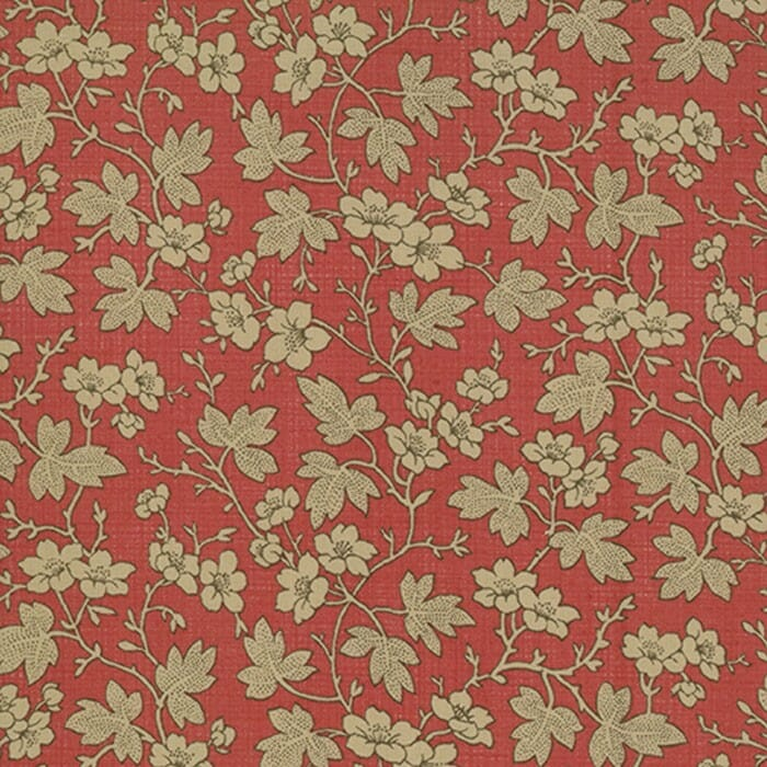 Moda Fabric French General Favourites Cornouille Red Rouge