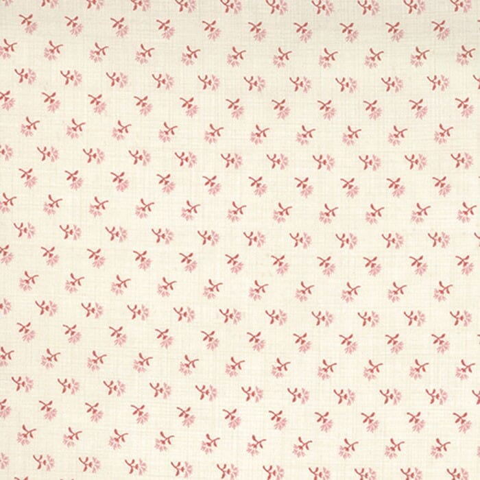 Moda Fabric French General Favourites Floral Pearl