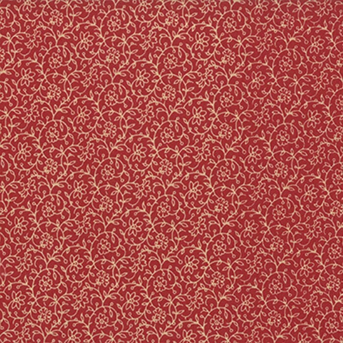 Moda Fabric French General Favourites Lunaire Red