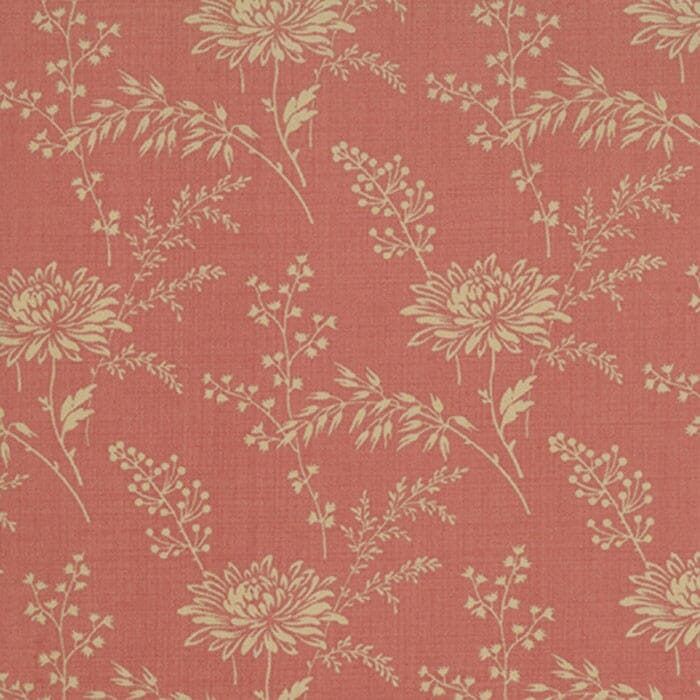 Moda Fabric French General Favourites Paquerette Faded Red