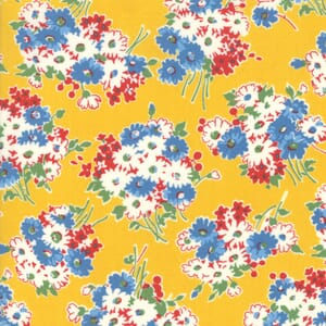 Moda Fabric Good Times Flowers Yellow