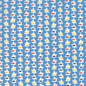 Moda Fabric Good Times Popcorn Blue