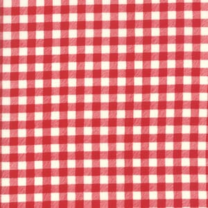 Moda Fabric Good Times Gingham Red
