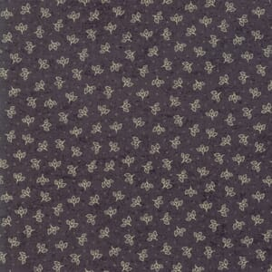 Moda Fabric Home Bud Black