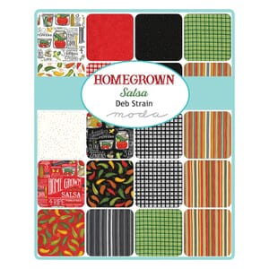 Moda Homegrown Salsa Jelly Roll