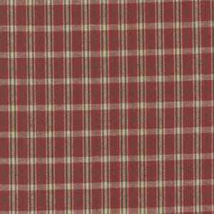 Homemade Homespuns Woven Flannel Check Red 9660 24