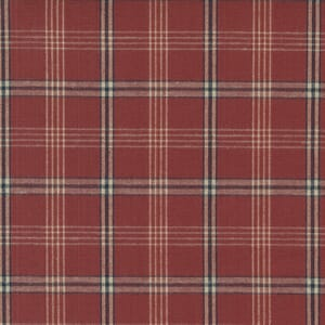 Homemade Homespuns Woven Flannel Check Red 9660 25