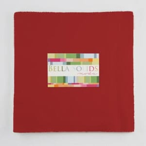 Small Image of Moda Fabric Junior Layer Cake Bella Solid Red