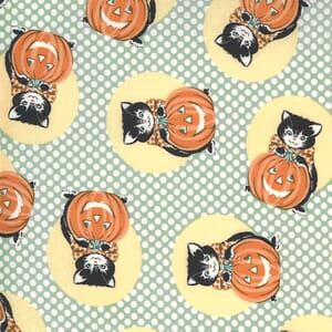 Moda Fabric Kitty Corn Kitty Goblin 31171 15