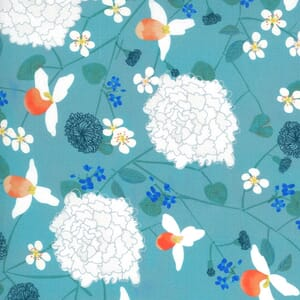 Moda Lakeside Story Midwest State Flowers Freshwater