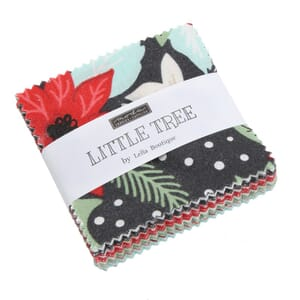 Large Image of Moda Fabric Little Tree Mini Charm