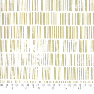 Small Image of Moda Fabric Modern Background Luster Metallic Scales White