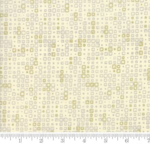 Small Image of Moda Fabric Modern Background Luster Metallic Tiles Natural