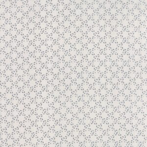 Small Image of Moda Fabric Modern Background Stitched Circles Paper Graphite Fog