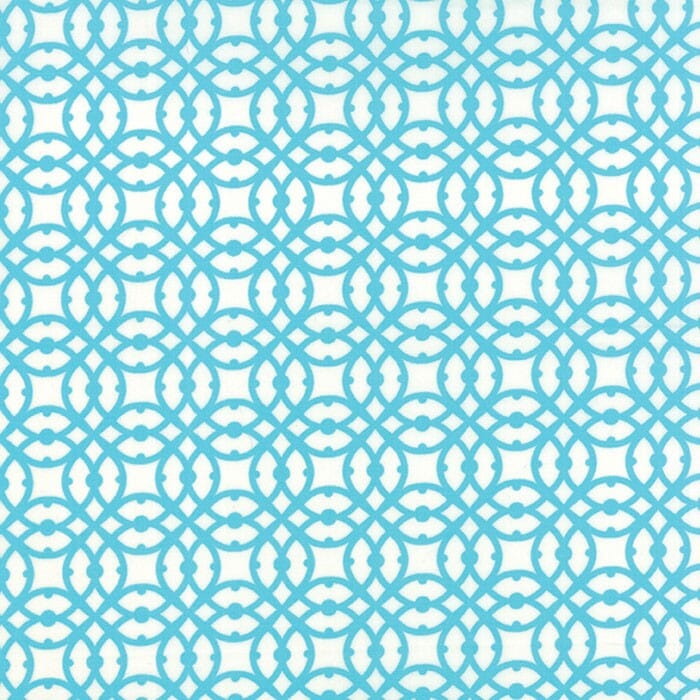 Moda Fabric Paradiso Destination Pearl Blue - End Of Roll   0.95 Metre Pack