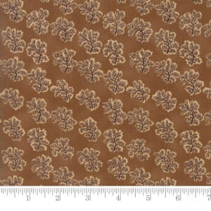 Small Image of Moda Fabric Preservation Fern Brown