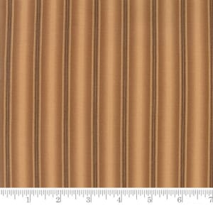 Small Image of Moda Fabric Preservation Ombre Stripe Brown