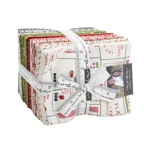 Moda Red Barn Christmas Fat Quarter Bundle